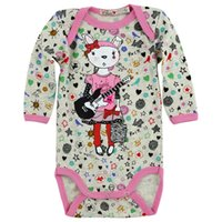 name brand baby clothes - Children s clothing baby girl long sleeve bodysuit cotton material Named brand CHIPIE