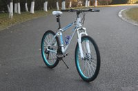 bike mountain - Men and women Bikes Mountain Bikes Speed Inch SHIMANO Transmission Aviation aluminum alloy frame Mechanical disc brake Men and