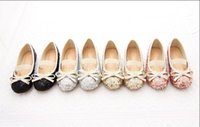 Wholesale 2015 autumn spring summer and winter childrens girls Sequins warm bow Plush shoes