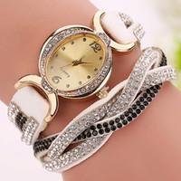 aw quartz watch - colors New Fashion Rhinestone Quartz Watches Women Multilayer Casual Watches Wristwatch Relogio Feminino AW SB