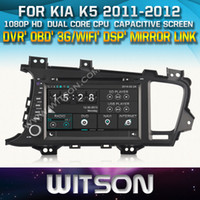 dvd for kia optima - WITSON Car DVD GPS for KIA K5 OPTIMA Capactive Screen OBD Mirror Link G WIFI supported DSP Audio nice gift