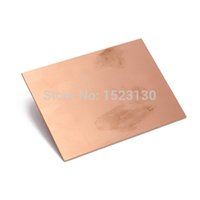 Wholesale 10pcs FR4 PCB Single Side Copper Clad DIY PCB Kit Laminate Circuit Board x100x1 mm order lt no track