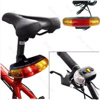 bicycle signal - Hot sale New In Cycling Bicycle Bike Turn Signal Brake Tail LED Light Electric Horn