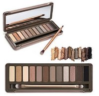bare makeup palette - New Pro Makeup Eye Shadow Bare Earth Color Colors Eyeshadow Palette With Mirror g Each Color Matte Pearl Color