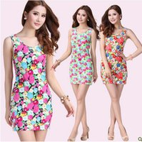 Cheap 2015 New Women Summer Casual Dress Plus Size Cheap China Dress 9