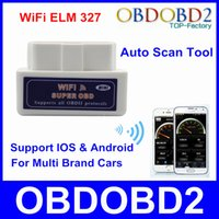 accent auto - WiFi ELM Diagnostic Scanner For OBD2 OBD II Cars Support IOS Android System Mini WiFi ELM327 Auto Scan Tool Post Free