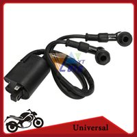 Wholesale Black Ignition coil for Yamaha Banshee YFZ350 DC12V ATV Motorcycle Bike ignition coil order lt no track
