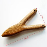 chicken wings - Slingshots Outdoor New Arrival Wood Slingshot Catapult Chicken Wings Durable Launcher with Powerful Strip for Target Aimpoint
