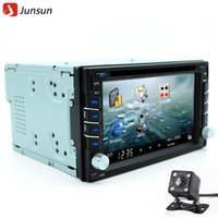 Wholesale New din car dvd player radio gps Navigator universal Bluetooth double din touch screen car stereo Rear View Free map update