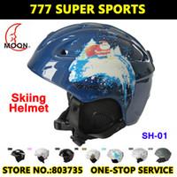 Shinning Black  skateboards - Christmas Design Ski helmet Ultralight Integrally Molded Professional Snowboard helmet Unisex Skateboard helmet Size cm