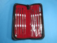Wholesale Dental Lab Equipment Wax Carving Tools Set Surgical Dentist Sculpture Knife Instruments Tool Kit