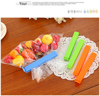 Wholesale New Arrival Kitchen Accessories Novelty Plastic Bag Clip Freshness Plus Size Sealer Up Sealing Clamp for Keeping Fresh ROJJ