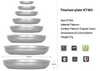 Wholesale Outdoor Dish Titanium plate g KT363