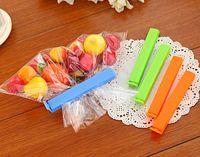 caliente de color bolsa de plástico clip de más tamaño sellador para accesorios paquete de basura saborizante de alimentos de la cocina del hogar de la novedad