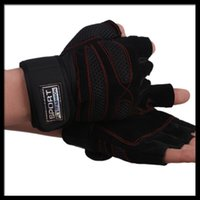 Wholesale CL003 genuine leather Weight lifting hand gloves fitness sport gloves luvas fitness