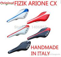 alloy rail - Italy FIZIK arione cx aliante Manganese alloy Rail bow saddle fizik saddle mtb road bike soft seats mountain bicycle saddle