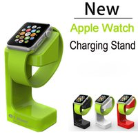 charger dock station stand - 2015 Brand Magnetic Charger Stand Holder Dock Fashion Charging Mount Station For Apple Watch iwatch mm mm Moto Galaxy Watch Retail