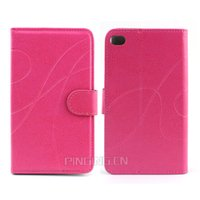 aluminun case - luxury aLuminun lmetal frame Leather flip cell phone case for Sony T3 Z3 Z3MINI