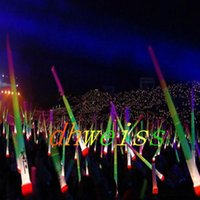 Wholesale Telescopic LED Glow Stick Flash Light Toy Fluorescent Sword Concert Christmas Carnival Toys LED Light Sticks Luminous Sticks