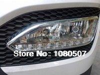 9 LED hyundai ix45 - DRL lamp for Hyundai santa ix45 high quality LED Daytime running light