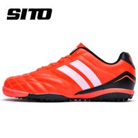 artificial increase - New Arrival counters authentic Ares series of artificial turf soccer shoes leather sneakers Non slip footbal shoes