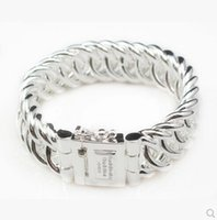 Wholesale Classic Style Netherlands Bracelet Brand TO Buddha sterling silver Bracelet Jewelry Fashion Bracelet for Men Perfect Big