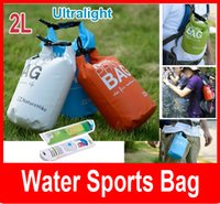 Wholesale Ultralight Outdoor L Water Sports Bag Rafting Drifting Waterproof Dry Bag PVC Swimming waterproof bag drift bag