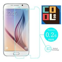 best anti glare screen protector - Best Selling Ultra Thin D Clear Transparent Genuine Tempered Glass Film Screen Protector For SAMSUNG S6