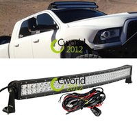 Cheap 42 Inch Curved Offroad 240W LED Light Bar Combo SUV ATV Wagon 4WD 4X4 Car UTE UTV Off Road Driving DRL Lamp For JEEP GMC Ford