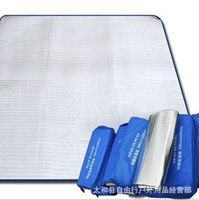Wholesale Moisture proof mat camping mat double side aluminum film pad