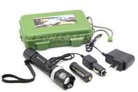Wholesale LED Flashlight Charger Kit genuine waterproof flashlight super bright LED light source