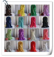 Wholesale TOP QUALITY Unverial Banquet Wedding Chair Covers amp Satin Chair Cover
