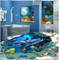 acid ocean - 3 d ocean Mediterranean style solid floor wear resisting ceramic tile