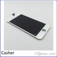 Wholesale White Front LCD Touch Screen Digitizer Assembly Frame for iPhone quot B1 Free DHL