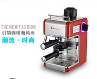 automatic machine - New arrival red V coffee maker Hot sale Italian espresso coffee machine bar semi automatic coffee making machine