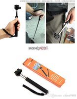 Wholesale sets Portable Extendable CM Monopod with Universal CM Clip Holder for Camera DV Camcorder for iphone Samsung