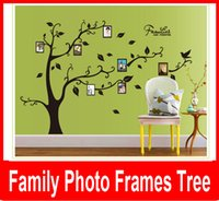 adhesive picture frames - Family tree Picture Photo Frame Tree Wall Quote Art Stickers Vinyl Decals Home Decor family photo frame tree