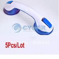 Wholesale Suction Cup Safety Tub Bath Bathroom Shower Tub Grip Portable Grab Bar Handle