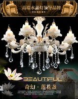 Wholesale european style chandeliers luxury led crystal chandelier for sale crystal accessories for chandeliers large crystal pendants