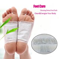 Wholesale NEW Body Care Feet Pads Patches With Adhersive Sheet Detox Foot Patch Bamboo vinegar Pads Improve Sleep Beauty Slimming Patch order lt no t
