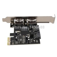 Wholesale Hot Sale PCI E PCI Express To SATA Gbps Esata SATA III Ports Card Adapter ASM1061