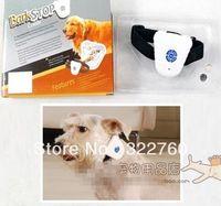 barkstop collar - 100 Human No Shock Auto Anti Bark Dog Training Collar Barkstop Pet Supplies With Retail Box New Hot Sales