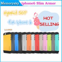 Wholesale For iPhone6 SGP Slim Armor Dual Layer Shock Proof Neo Hybrid Rugged Tough Case Cover for iPhone G Air