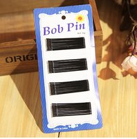hair grip pin - 3600pcs Fashion Hair Clips Bobby Pins Invisible Curly Wavy Grips Salon Barrette Hairpin For Girls Simple Black Metal Clips
