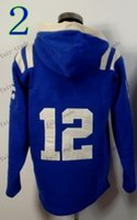 Wholesale ic Pullover Hooded Sweatshirt Football Hoodies Lace Up Winter Outdoor Sportswear Warm Hooded Drop Shipping