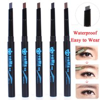 Wholesale 2pcs High Quality eyebrow pencil New waterproof brown eye brow Pencils Brow Pen to makeup brows
