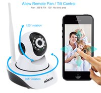Wholesale KKMOON P HD H MP PnP P2P Pan Tilt IR Cut WiFi Wireless Network IP Webcam Vigilancia CCTV Security Camera Surveillance DHL S377