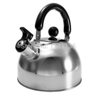 Wholesale High Quality L Stainless Steel Whistle Whistling Kettle Kitchen Caravan Camping Parts Accessory Siver