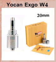 technology - Electronic Cigarettes Yocan Exgo W4 Vaporizer Wax Thick Oil Vaporizer Newest Nero Fast Heating Pure Taste Technology Thread ATB161