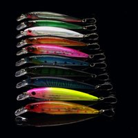 japan lure - 11CM G Minnow Fishing Lure Japan Tackle Laser Crankbait Minnow Hooks Artificial Bait Hard Plastic bait Wobbler Pesca